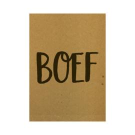 Ansichtkaart - Boef