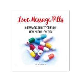 Love message pills
