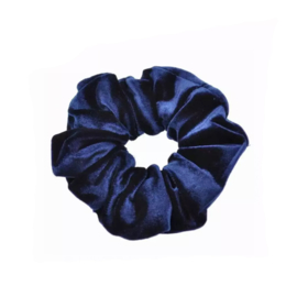 Galaxy Blue - Velvet scrunchie