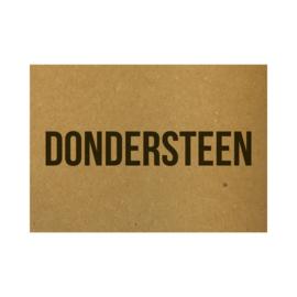 Ansichtkaart - Dondersteen