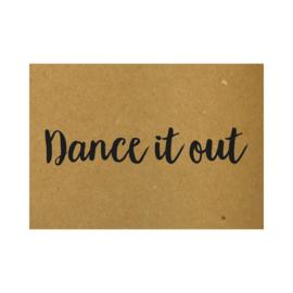 Ansichtkaart - Dance it out