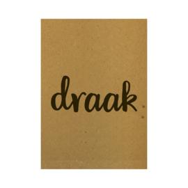 Ansichtkaart - Draak