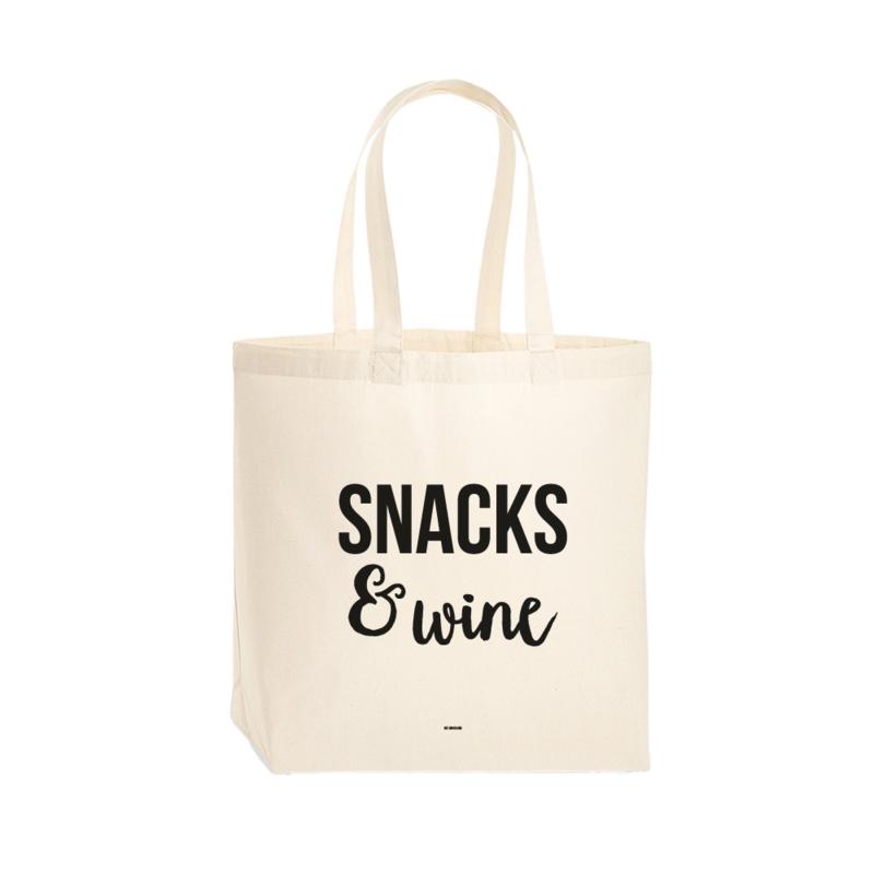 Premium tas - Snacks & wine