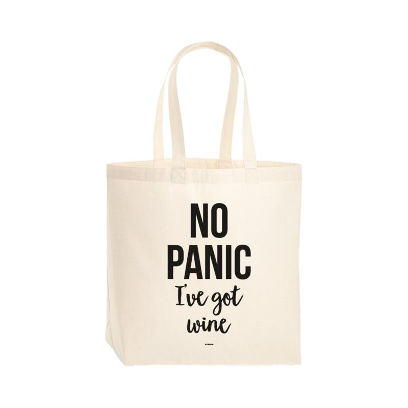 Premium tas - No panic I've got wine