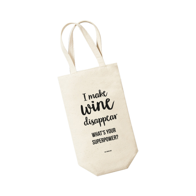 Wijntas - I make wine disappear What's your superpower?