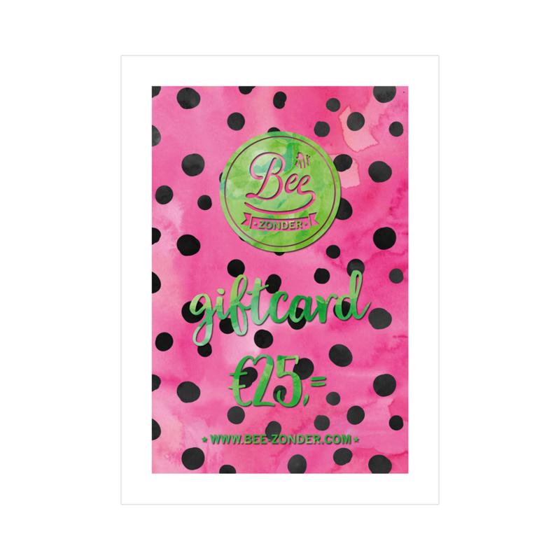 Beezonder Giftcard €25,-