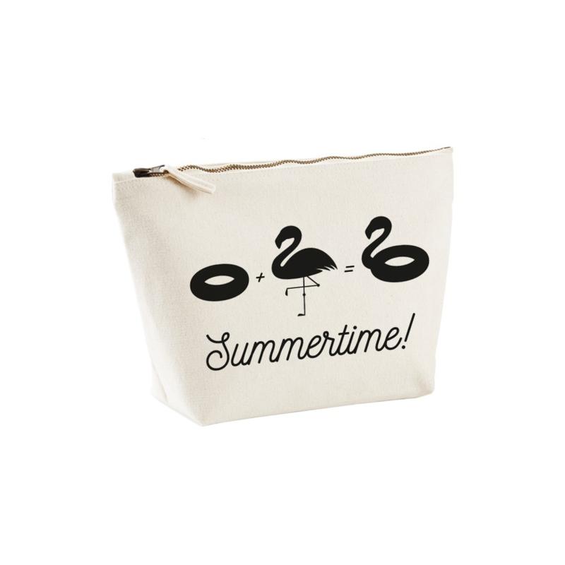 Toilettas - Zwemband + flamingo = Summertime