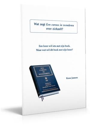 Brochure 'Wat zegt Een Cursus in wonderen over zichzelf'