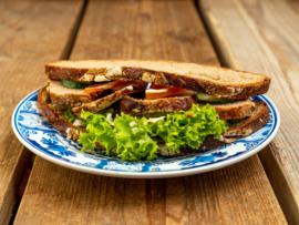 Boerenboterham-volkoren desem brood, Gehaktbal