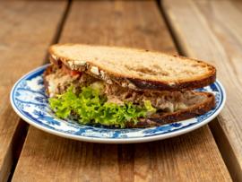 Boerenboterham-volkoren desem brood, Tonijnsalade