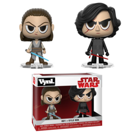 Star Wars: Rey + Kylo Ren 2 Pack Vynl