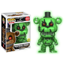 Five Nights at Freddy's: Nightmare Freddy GITD FUnko Pop 111