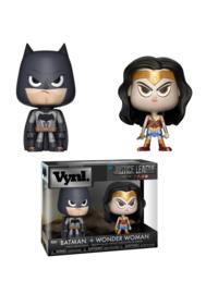 Dc Justice League: Batman + Wonder Woman 2 Pack Vynl