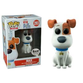 Secret Life of Pets: Max Flocked Funko Pop 293