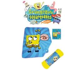 Spongebob Fleecedeken (Blauw)