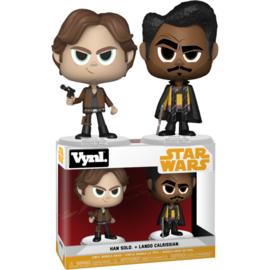 Star Wars Solo: Han Solo + Lando Calrissian Vynl 2 Pack
