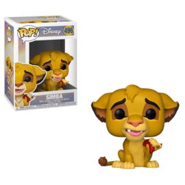 Disney Lion King: Simba Funko Pop 496