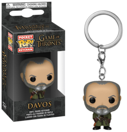 Game of Thrones: Davos Pocket Pop Keychain