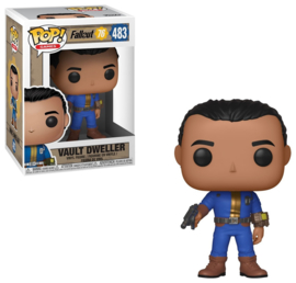 Fallout 76: Vault Dweller (Male) Funko Pop 483