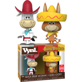 Hanna Barbera: Quick Draw McGraw + Baba Looey Vynl 2 Pack