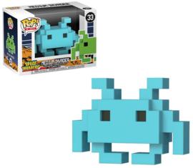 Space Invaders: Medium Invader (Blauw) Funko Pop 33