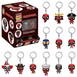 Marvel Deadpool Mystery Pocket Pop Keychain