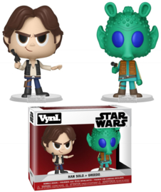 Star Wars: Han Solo + Greedo 2 Pack Vynl