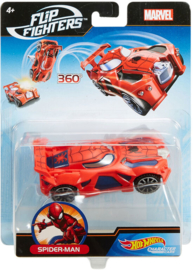 Marvel Hot Wheels Flip Fighters: Spider-Man