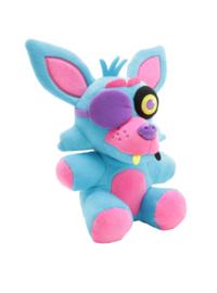 FNAF: Foxy Knuffel Blacklight (Blauw) Supercute Plush