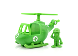Disney Toy Story 4: Sarge & Helicopter Mini