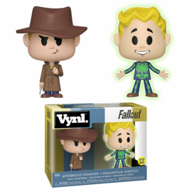 Fallout: Mysterious Stranger + Adamantium Skeleton Vynl 2 Pack