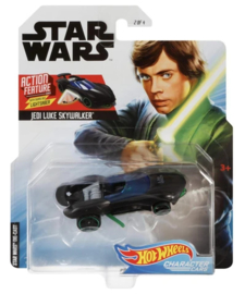 Star Wars: Luke Skywalker (Lightsaber - Action Feature) Hot Wheels