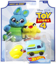 Toy Story 4: Ducky and Bunny Hot Wheels