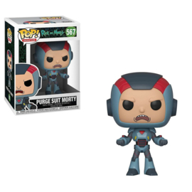 Rick and Morty: Purge Suit Morty Funko Pop 567