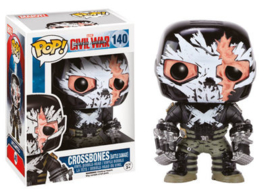 Marvel Captain America Crossbones (Battle Damage) Funko Pop 140