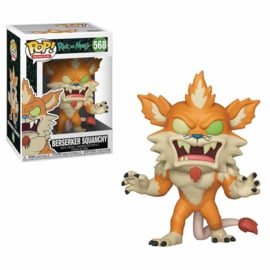 Rick and Morty: Berserker Squanchy Funko Pop 568