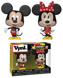Disney: Mickey + Minnie Mouse Vynl 2 Pack