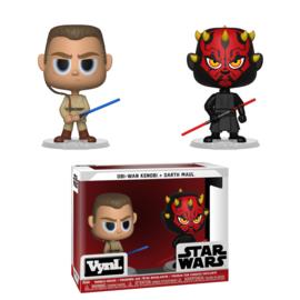 Star Wars: Obi-Wan Kenobi + Darth Maul Vynl