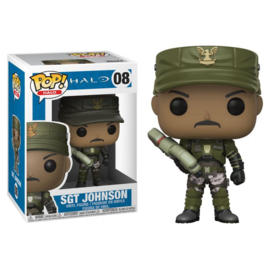 Halo: SGT Johnson Funko Pop 08