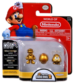 Mario Micro Land: 3 Pack figuren