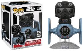 Star Wars: Tie Fighter Pilot with Tie Fighter Funko Pop 221