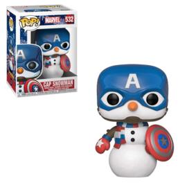 Marvel: Cap Snowman Funko Pop 532