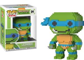 TMNT: Leonardo 8 Bit Funko Pop 04