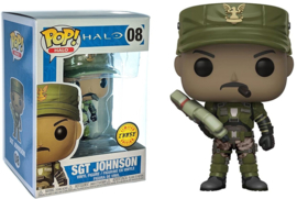 Halo: SGT Johnson (CHASE) Funko Pop 08