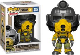 Fallout 76: Excavator Armor Funko Pop 482