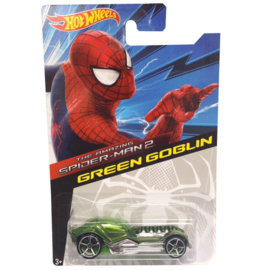 Marvel Spider-Man: Green Goblin Hot Wheels