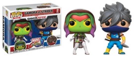 Marvel vs Capcom: Gamora vs Strider Funko Pop 2 Pack