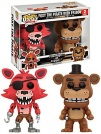 Five Nights at Freddy's: Foxy with Freddy 2 Pack