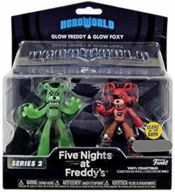 Funko Heroworld: Glow Freddy & Glow Foxy Figurenset