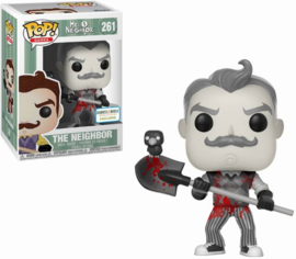 Hello Neighbor: The Neighbor (Black & White) Funko Pop 261